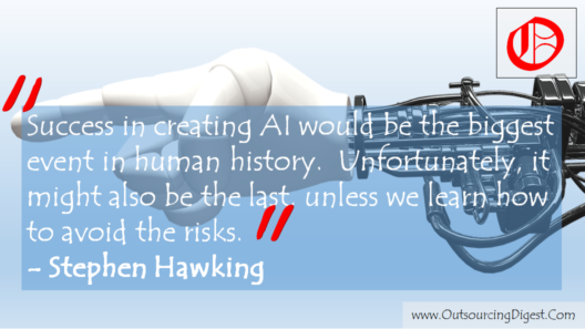 Success in creating AI would be the biggest event in human history. Unfortunately, it might also be the last, unless we learn how to avoid the risks. Stephen Hawking